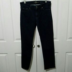 7 for all Mankind Jeans - 7 for all mankind Kimmie Straight Leg Jeans Sz 30